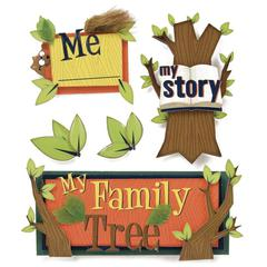 Karen Foster Design Stacked Sticker Kids Ancestry