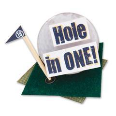 Stacked Sticker Golf
