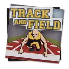 Karen Foster Design Stacked Sticker Track