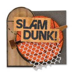 Karen Foster Design Stacked Sticker Slam Dunk