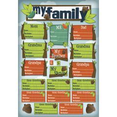 Karen Foster Design Cardstock Sticker My Roots
