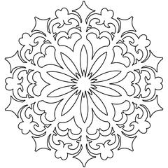 """The Crafter's Workshop 12"""" x 12"""" Design Template Daisy Doodad"""