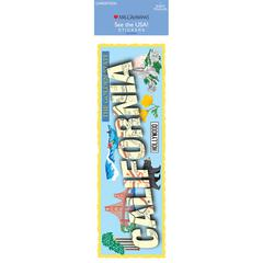 Mrs. Grossman's Cardstock Sticker California
