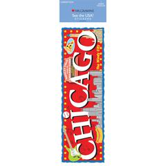 Cardstock Sticker Chicago
