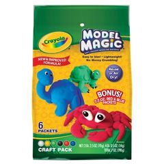 Crayola Model Magic 6-Color Craft Pack