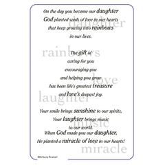 It Takes Two Poems For A Page Daughter Stickers
