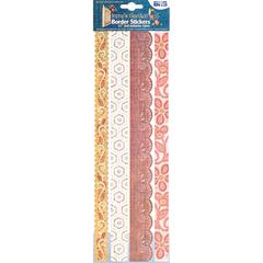 "Fabric 12"" Border Stickers Multi 1"