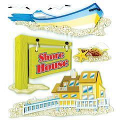 Sticker Shore House