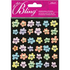 Jolee's Boutique All That Bling Boutique Sticker Baby Mini Flowers
