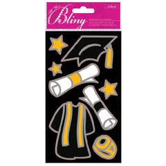 Jolee's Boutique All That Bling Le Grande Outline Stickers Graduation
