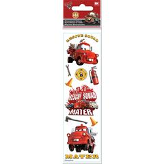 3-D Slim Stickers Cars Rescue Squad