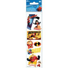 3-D Slim Stickers The Incredibles