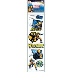 3-D Slim Stickers Wolverine