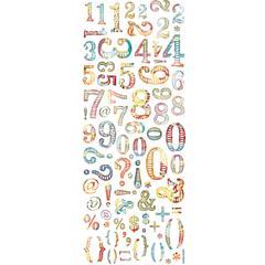 Mrs. Grossman's Rub-Ons Numbers