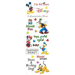 Phrases Stickers Mickey Mouse