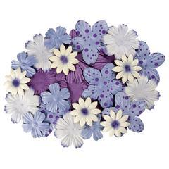 Blue Hills Studio Irene's Garden Bag O'Blooms Purple
