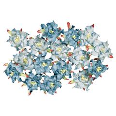 Dimensional Paper Flowers Blueberry