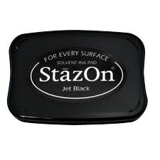 Solvent Ink Pad Jet Black