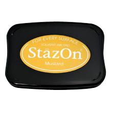 StazOn Solvent Ink Pad Mustard