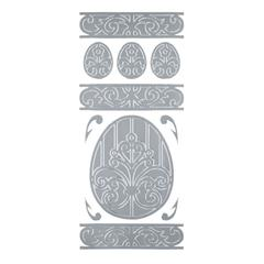 Outline Stickers Silver #16