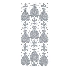 Blue Hills Studio DesignLines Outline Stickers Silver #24