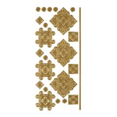 Blue Hills Studio DesignLines Outline Stickers Gold #35