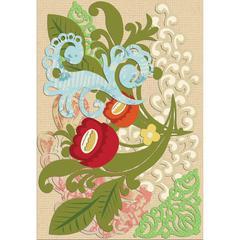 K & Company Handmade Embellishments Corner Die-Cut Stickers
