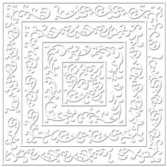 """Bazzill 12"""" x 12"""" Embossed Cardstock Shabby Chic"""