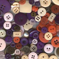 Buttons Galore & More Button Bonanza Grab Bag Vintage