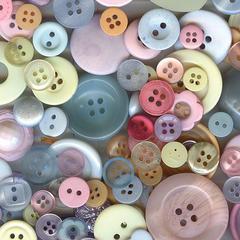 Buttons Galore & More Button Bonanza Grab Bag Pastel