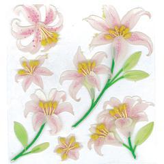 Sticker Beautiful Lilies