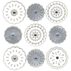 Stickers Wedding Doilies