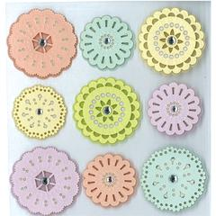 Stickers Party Doilies