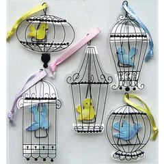 Jolee's Boutique Stickers Vintage Bird Cages