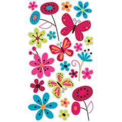 Sticko Classic Stickers Butterfly Garden