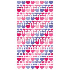 Sticko Vellum Stickers Purple/Pink Heart