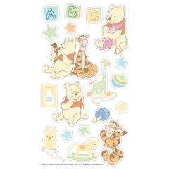 Puffy Stickers Pooh Bear