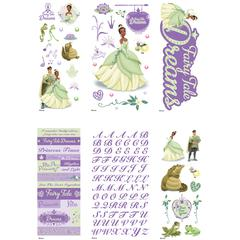 Value Sticker Set Princess & The Frog