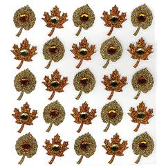 Jolee's Boutique Sticker Fall Leaf Rpt