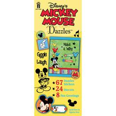 Dazzles Disney© Mickey Mouse Stickers