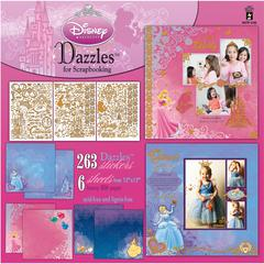 Dazzles Disney© Princess Stickers Princess