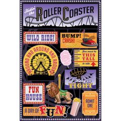 Cardstock Sticker Wild Ride