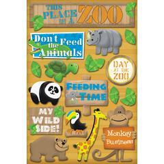 Karen Foster Design Cardstock Sticker Wild Side