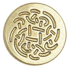 Manuscript Decorative Wax Sealing Coin Celtic Rose