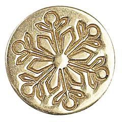 Decorative Wax Sealing Coin Snowflake