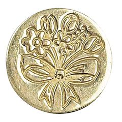 Decorative Wax Sealing Coin Spring Flower Bouquet