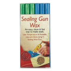 Manuscript Sealing Gun Wax Blue Green