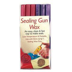 Sealing Gun Wax Pink Purple
