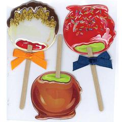Sticker Candy Apples