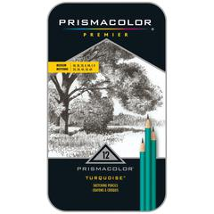 Prismacolor Premeir Turquoise Premier Medium Drawing Pencil Set